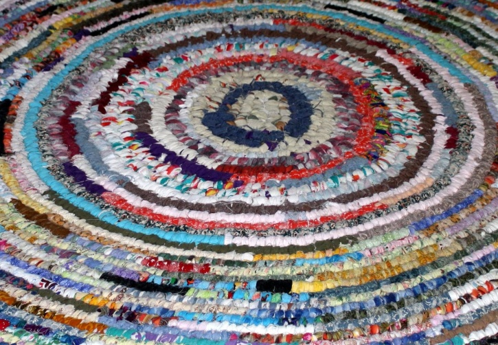 colorful, rag, rug, texture